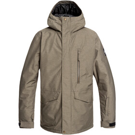 Quiksilver Mission Jas Heren, grape leaf